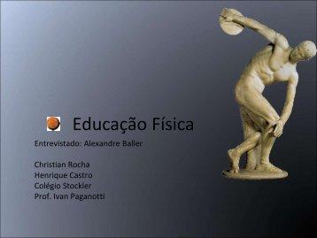 (pdf) dos alunos sobre a carreira de Educação Física