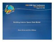 Building Interior Space Data Model