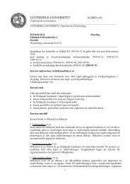 Fördjupningskurs 2, 20 p (pdf) - Psykologiska institutionen
