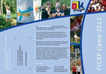 FICEP Camp 2012 - DJK-Sportjugend