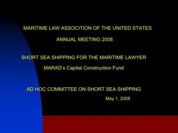 to download Article/Form/Document - Maritime Law Association of ...