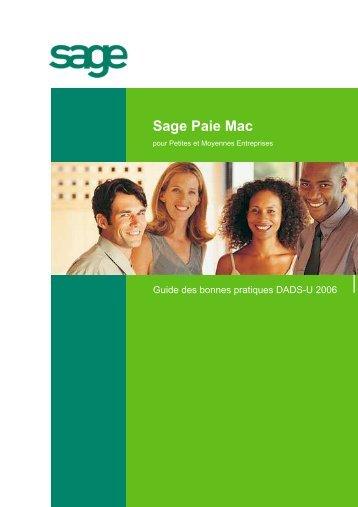 Guide des bonnes pratiques DADS-U Paie Mac 2006 - extremIT