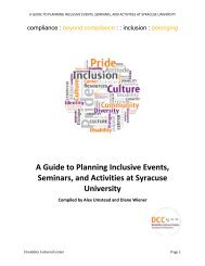A Guide to Planning Inclusive Events, Seminars, and Activities at ...
