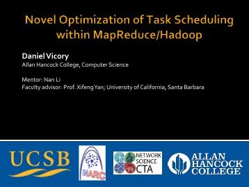 Download Final Presentation - University of California, Santa Barbara