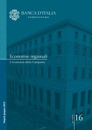 Economie regionali - Unioncamere Campania