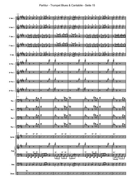 Trumpet Blues And Cantabile Pdf