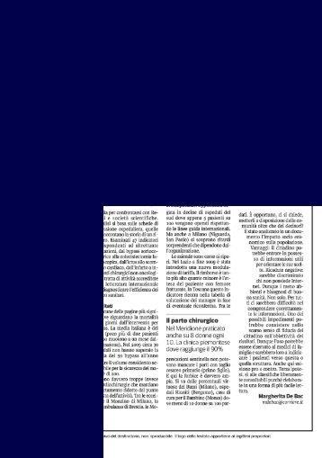 Le due Italie della Sanità ypass più nschioso al Sud - Centro ...