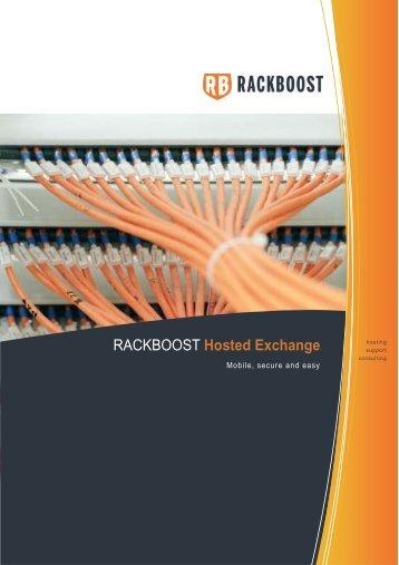 Hosted Exchange - RACKBOOST