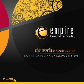 NORTH CAROLINA CATALOG 2013-2014 - Empire Beauty School