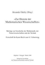 Festschrift für Karin Reich - Inhalt - GNT-Verlag