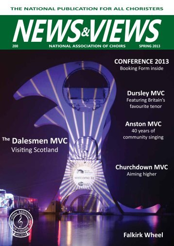 News & Views Spring 2013 200 - National Association of Choirs