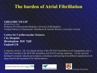 The burden of Atrial Fibrillation - Dronedarone-atrial-fibrillation ...