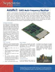 AsteRx3: GNSS Multi-frequency Receiver AsteRx3 - ppm GmbH
