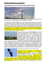 Windkraftstandorte optimieren - BI-Knoten