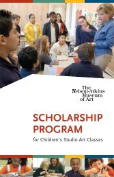 scholarship program prog de b - The Nelson-Atkins Museum of Art