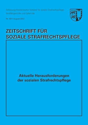 Zeitschrift für soziale Strafrechtspflege 48 - Schleswig-Holsteinischer ...
