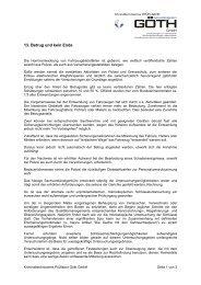 13. Betrug und kein Ende  - GOETH GmbH