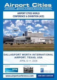 Airport Cities - Aerotropolis
