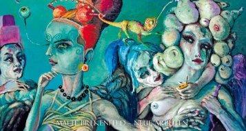 Malte brekenfeld – neue arbeiten - Galerie Angelika Blaeser