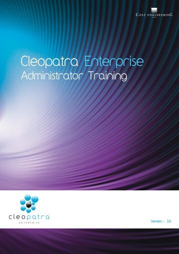 Cleopatra Enterprise - Cost Engineering