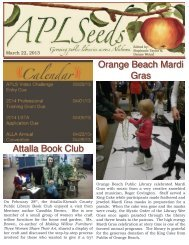 Attalla Book Club Orange Beach Mardi Gras