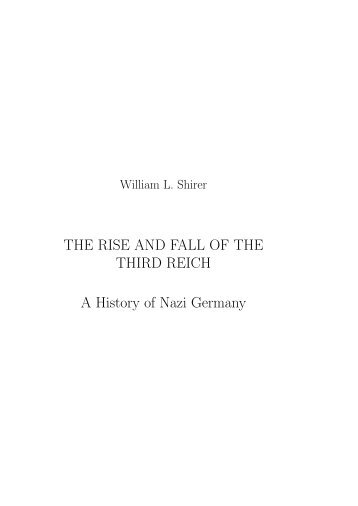 The_Rise_And_Fall_Of_The_Third_Reich
