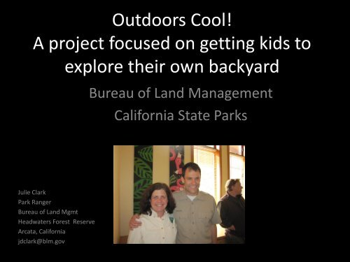17. Outdoors Cool! - Bureau of Land Management