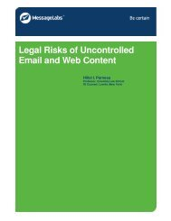 Legal Risks of Uncontrolled Email and Web Content - Criminal Law ...