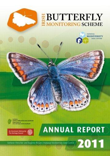 National Biodiversity Data Centre 2011 - Irish Butterfly Monitoring ...