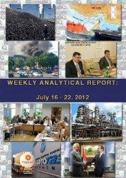 Weekly analytical report: July 16 - 22, 2012 - Українська енергетика ...