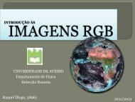 Introducção Imganes RGB - Torre:Tempo e Clima - Universidade de ...