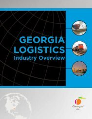 georgia's logistics education network - Logistics Provider Directory