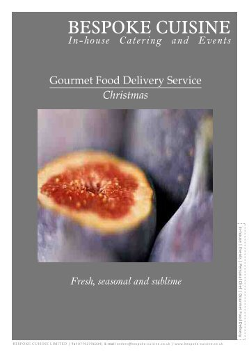 gourmet food delivery service_christmas