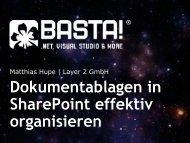Dokumentablagen in SharePoint effektiv organisieren - Layer 2 GmbH
