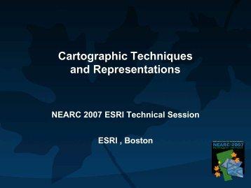 Cartographic Techniques and Representations - Northeast Arc ...