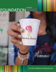 APRIL PDF Issue - Cal Poly Pomona Foundation