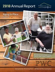 Aging In Place - People Working Cooperatively