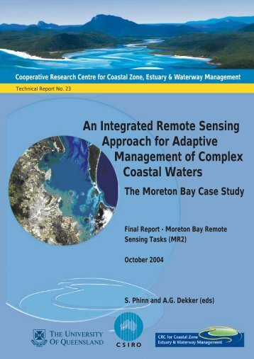 An Integrated Remote Sensing Approach for Adaptive ... - OzCoasts