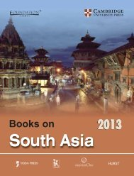 South Asia - Cambridge University Press India