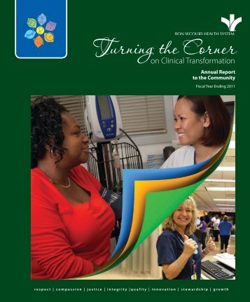 BSHSI Annual Report 2011 - Bon Secours Health System