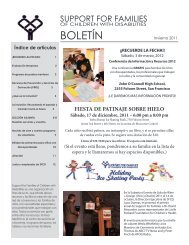 Inclusión - Support for Families of Children with Disabilities
