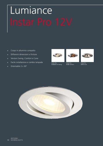 Lumiance Instar Pro 12V - Elettricoplus