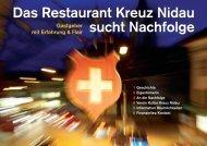 Das Restaurant Kreuz Nidau sucht Nachfolge