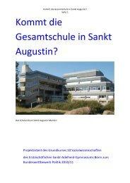 Kommt die Gesamtschule in Sankt Augustin? - Sankt-Adelheid ...
