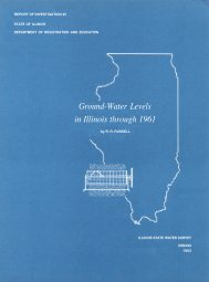 Ground-Water Levels in Illinois through 1961 - Illinois State Water ...