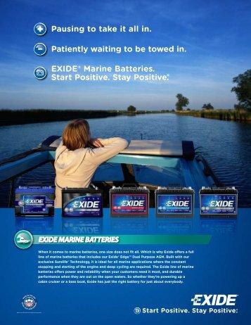 Download Exide Marine Family Brochure - Exide Technologies