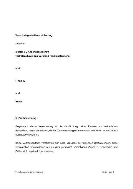 Geheimhaltungsvereinbarung Englisch Smartlaw 15