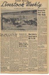 November 17, 1949 - Livestock Weekly!
