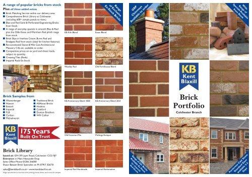 Brick Portfolio Kent Blaxill