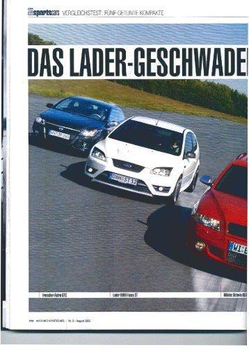 Auto Bild Sports Cars - Vergleichstest - SLS Tuning